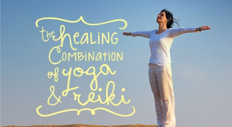 the healing combination of yoga and reiki